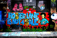 Hosier Lane Is Not 4 Sale