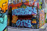 Melburn, Hosier Lane - Melbourne